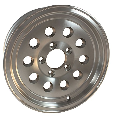 15x6 6 lug Series 03 Hi Spec Aluminum Trailer Wheel by HWT HiSpec Wheel and Tire (Image #1)