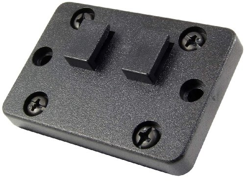 cle Specific Mount Adapter Plate Dual T Tab Horizontal (Cconverts AMPS to Male Dual T Tab) (Dual Mount Adapter)