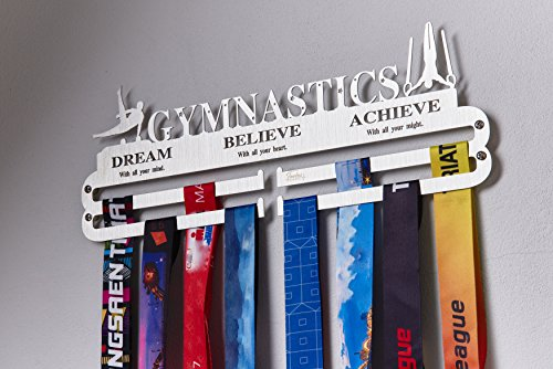 Over 33 Sports Styles Designed Medal Hanger Medal Holder for Every Sport Activity. (Gymnastic Boy)