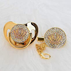 MIyocar all handmade bling baby gold pac...