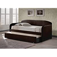 Hillsdale 1613DBT Springfield Daybed with Trundle, 42.5 D x 82.5 L x 37 H, Brown