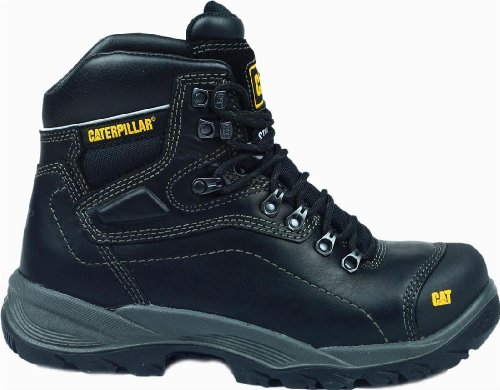 Male - Caterpillar Diagnostic Safety Boot Black Size UK 9 EU 43 US 9.5