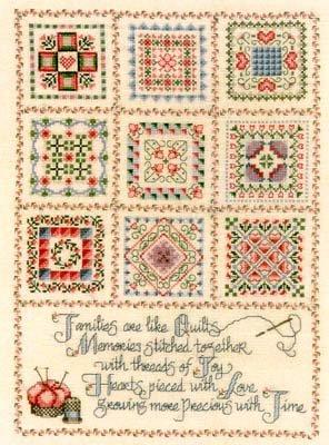 Threads of Joy Cross Stitch Chart