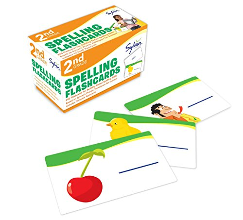 (2nd Grade Spelling Flashcards: 240 Flashcards for Building Better Spelling Skills Based on Sylvan's Proven Techniques for Success (Sylvan Language Arts)