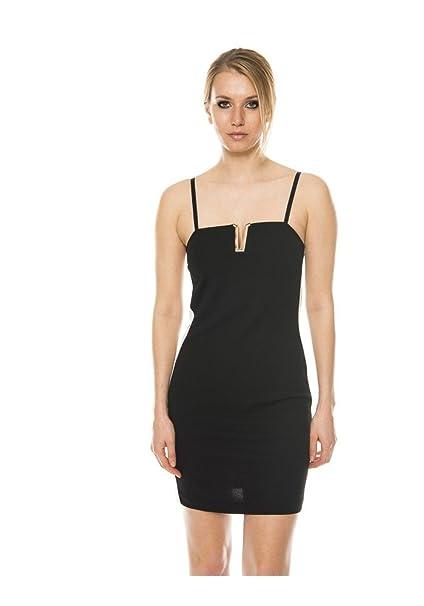 e2753ad5df94 ABITO TUBINO CON BANDE-NERO - XS  Amazon.it  Abbigliamento