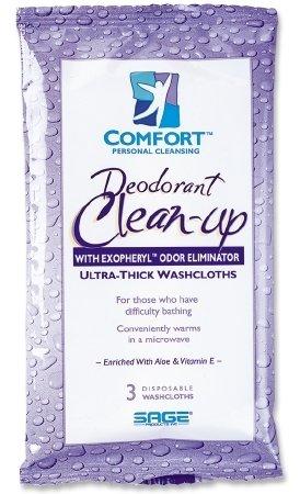 Sage Products Comfort Clean Up Bath Wipe - 7815CS - 5 medium weight, 420 Each / Case