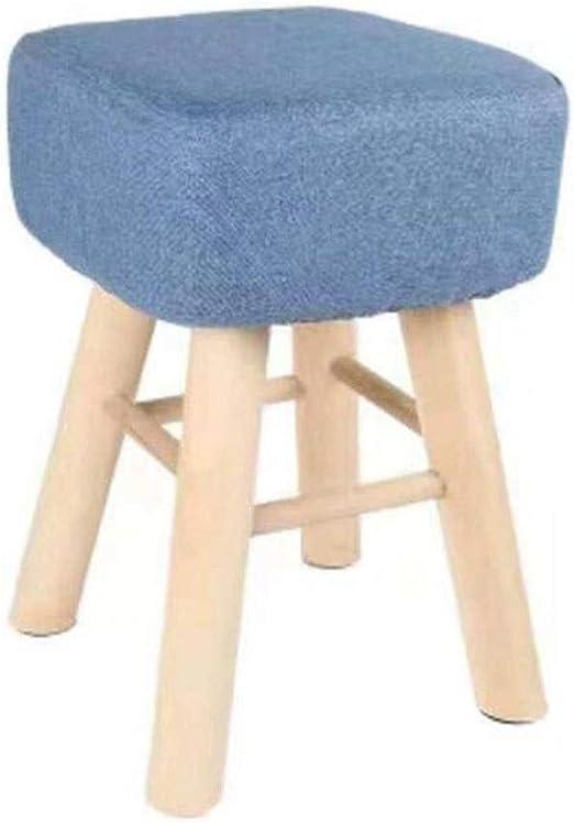 FGSJEJ Reposapiés Grande Taburete Taburete tapizado Taburetes de jardinería Conjuntos de Muebles de jardín Sillas Plegables de jardín Sillas y taburetes de Masaje (Color : Blue, Size : One Size): Amazon.es: Hogar
