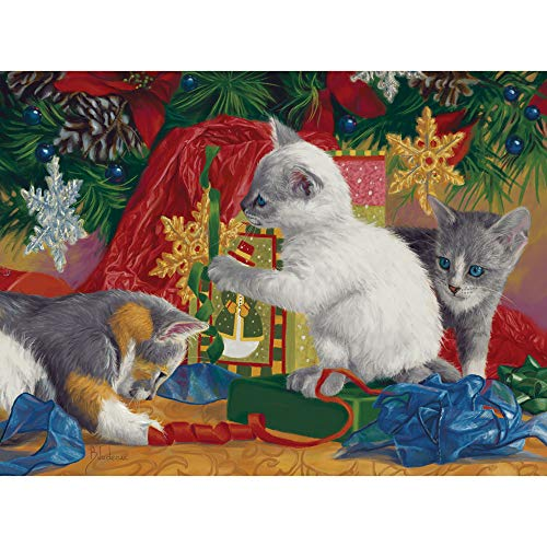 Bits and Pieces - First Christmas 1000 Piece Jigsaw Puzzles for Adults - Each Puzzle Measures 20