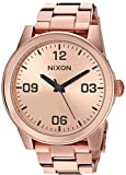 Nixon Women's 'G.I. SS' Quartz Stainless Steel Casual Watch, Color Rose Gold-Toned (Model: A919897-00)