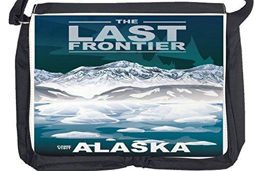 Borsa Tracolla Vacanza Agenzia Di Viaggi Alaska Stampato
