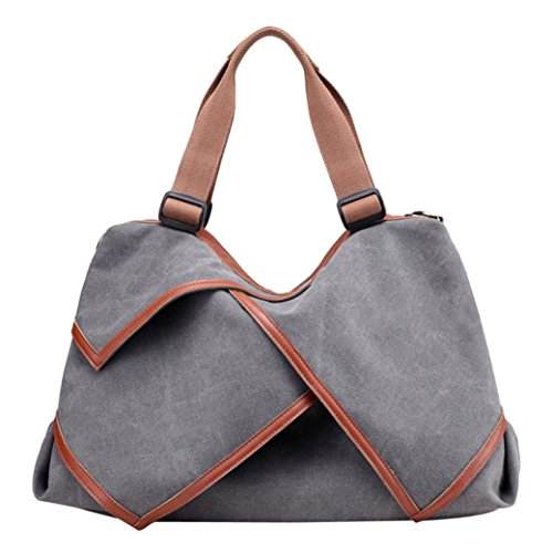 Shoulder Bags Women Canvas Shoulder Bag Esailq Shoppers Large And Cheap For Gray Girl
