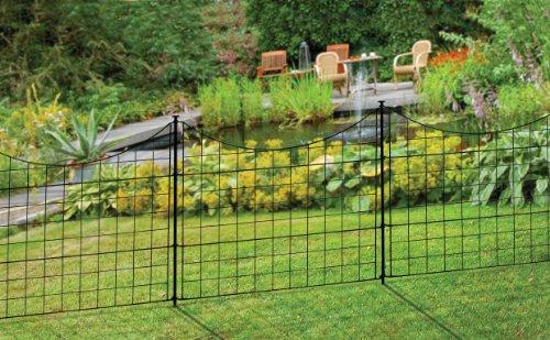 Wambam Fence Wf29001 Garden Metal Fence 147 5 Quot X 25