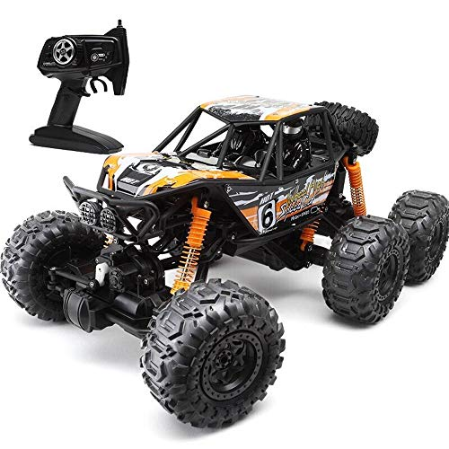 (Ycco Six-Wheeled Large Wireless Remote Control Off-Road Vehicle Four-Wheel Drive high-Speed Climbing Racing boy Charging Remote car Children's Toys Toy for Kids Boy Girl Birthday Present)