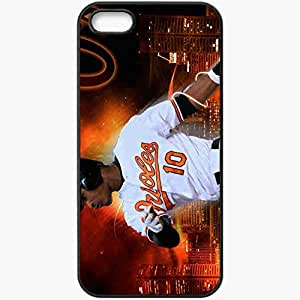 Personalized iPhone 5 5S Cell phone Case/Cover Skin 15158 Adam Jones by the410 Black