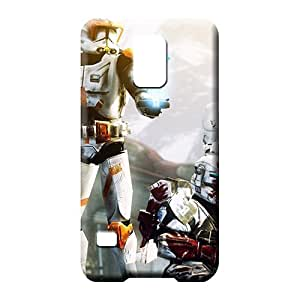 samsung galaxy s5 Hybrid Plastic For phone Protector Cases cell phone shells clone wars star wars