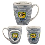 Universal Studios Florida Minion Mayhem Despicable Me Minion of the Month Large 20 Oz. Mug Coffee Cup Stoneware
