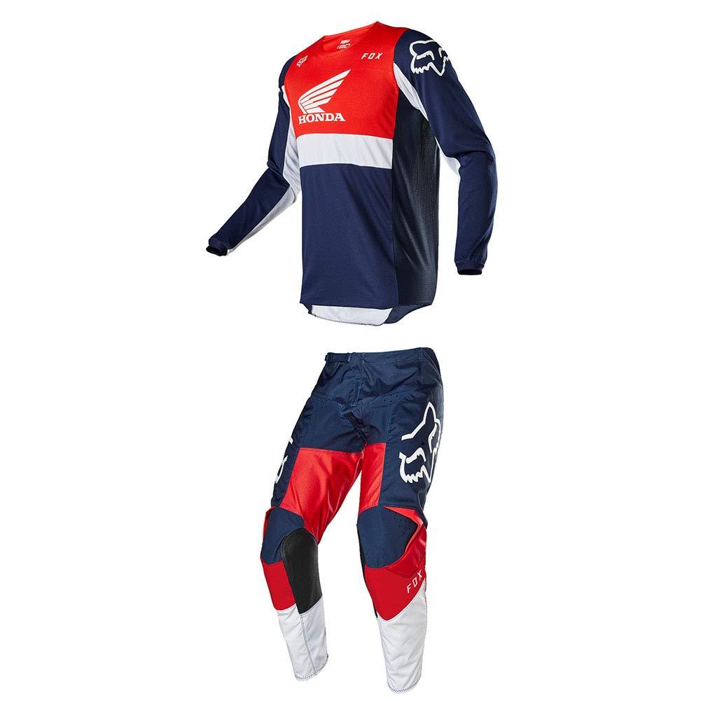 L//36 Fox Racing 180 Honda Jersey//Pants Set