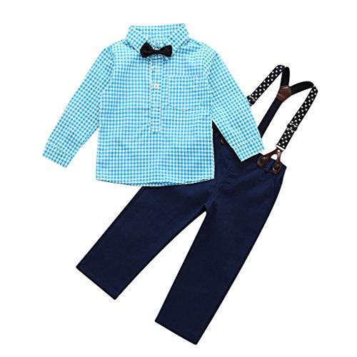 MIOIM Sleeve Plaid T Shirt Overalls