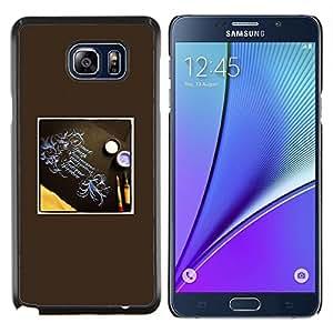 YiPhone /// Prima de resorte delgada de la cubierta del caso de Shell Armor - cálmate - Samsung Galaxy Note 5 5th N9200