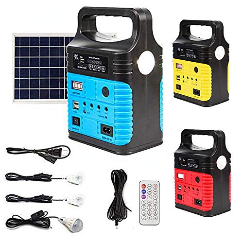UPEOR Solar Generator Lighting System Portable Solar Power Generator Kit