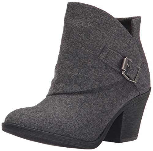 Blowfish Women's Suba Ankle Boot, Grey Tone Flannel, 8 M US