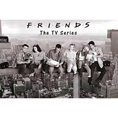 Friends- Black & White  Poster Rolled 36 x 24  PSA009999 (Friend Small Poster)