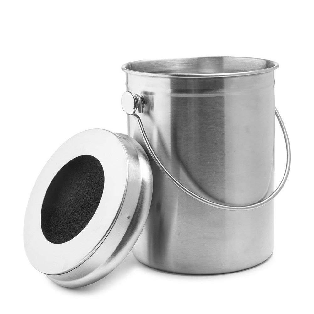 Konnison-2 Contenedor de Compost Cubo de Compost Cocina ...