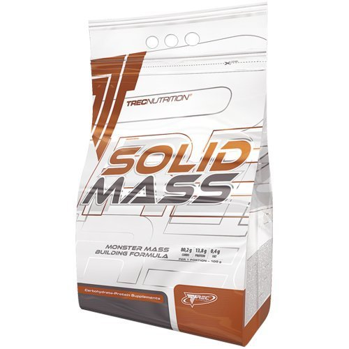 SOLID MASS 5800g - CHOCOLATE - GAINER MUSCLE SIZE WEIGHT GAIN PROTEIN - Increase body mass quickly - Carbohydrate and protein - based gainer formula - Trec Nutrition by MagicSupplements by MagicSupplements