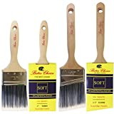 Painting Kitchen Cabinets Black Bates Choice Paint Brush Set with cover, 2 Piece (3-Inch and 2.5-Inch)