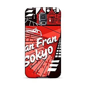 KaraPerron Samsung Galaxy S5 Shock-Absorbing Hard Phone Covers Allow Personal Design Nice Big Hero 6 Pattern [QTS8662KRvv]