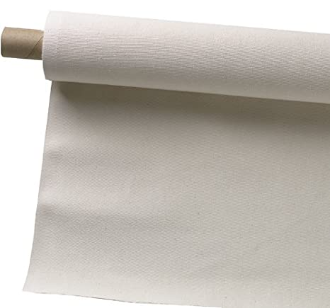 Pro Art 63-Inch by 3-Yards Canvas Rolls, Unprimed 1206-3