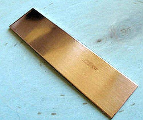 0.027 22 Ga 4 Pack 2x6 20oz Copper Sheet Unpolished Mill Finish