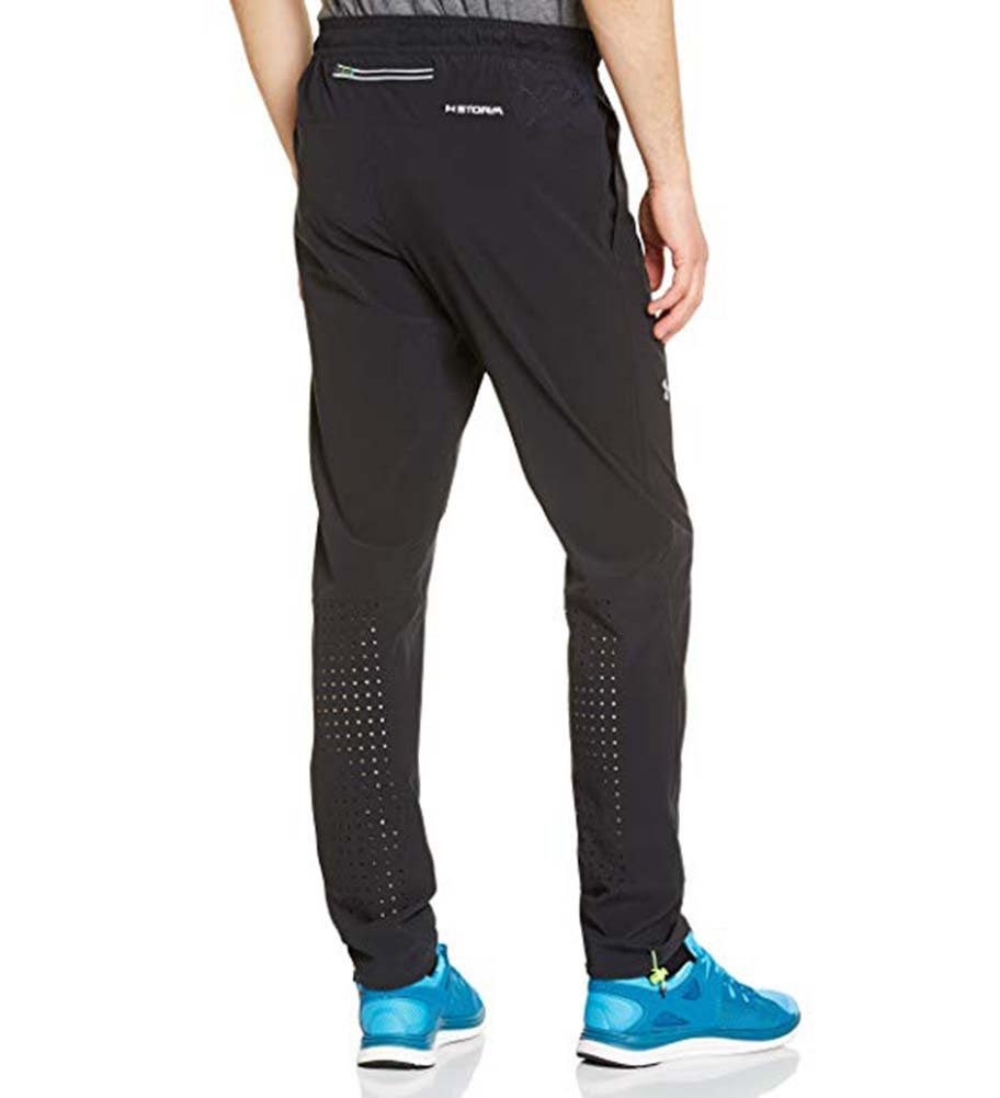 Mens Under Armour ArmourVent Storm Run Pant, Graphite, Medium