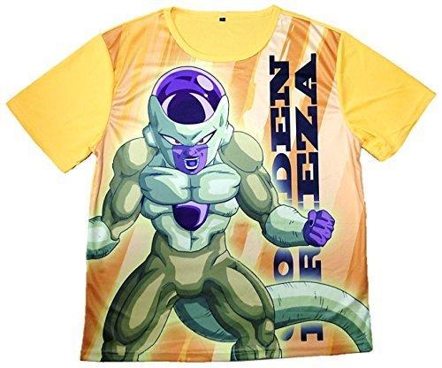 Zipangu F T-shirt L size Golden freezer of Dragon Ball Z revival
