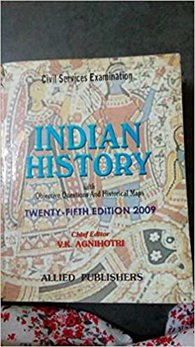 indian history vk agnihotri