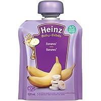 HEINZ Beginner - Strained Banana Pouch, 6 Pack, 128ML Each