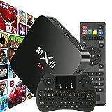 WISEWO MXIII MX3 TV Box Android 4.4 Amlogic S812 2G/8G Quad Core 4K Wifi Google TV Set Top Box Mini PC Full HD 1080P Smart TV Box Media Player with Wireless Keyboard