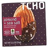 Tcho Chocolate Choc,Almond,Sea Salt,Organic 2.5 Oz (Pack Of 12)