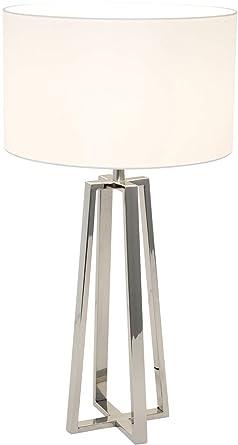 Cascata Lámpara de mesa holandesa en plata, hecha a mano ...