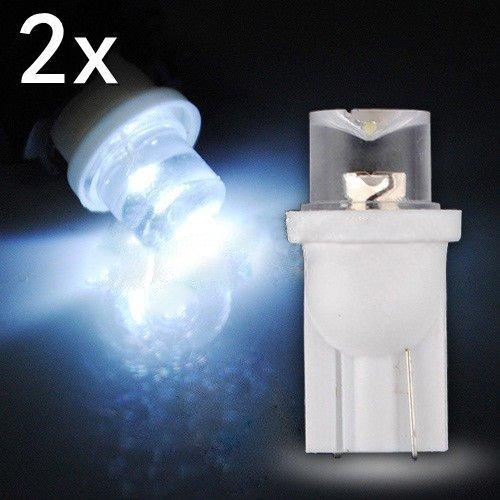TOOGOO(R) 2x 501 T10 W5W 194 Xenon White SMD LED Side Car Interior Wedge Light Bulb 12V UK