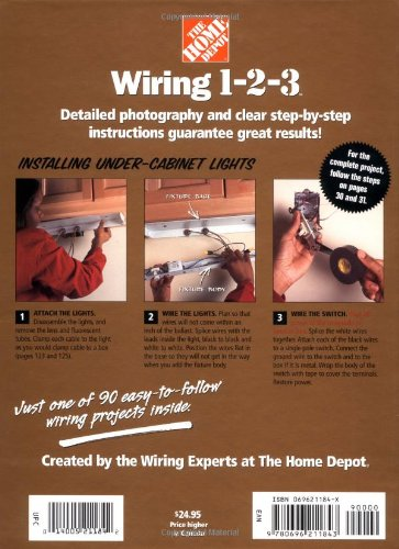 Wiring 1-2-3 (Home Depot ... 1-2-3): Home Depot Books, Catherine ...
