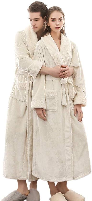 robe de chambre longue et chaude femme