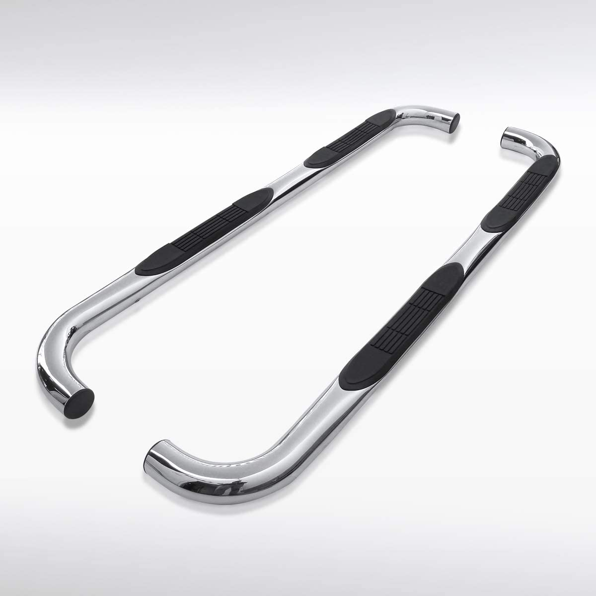 Autozensation For Ford F250 F350 Super Duty Crew Cab 3 Chrome Running Boards Side Step