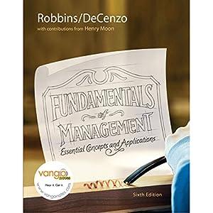 VangoNotes for Fundamentals of Management, 6/e Audiobook