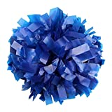 "Danzcue 1 Pair 6"" Plastic Cheerleading Pom Poms with Dowel Handle"
