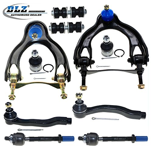 - DLZ 10 Pcs Front Suspension Kit-Upper Control Arm Ball Joint AssemblyLower Ball Joint Sway Bar Tie Rod End Compatible with 1992-1995 Honda Civic 1993-1997 Honda Civic Del Sol 1994-1997 Acura Integra