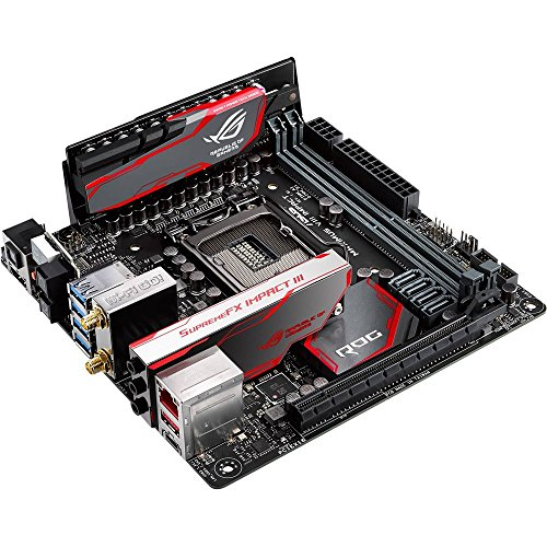 (ASUS ROG MAXIMUS VIII IMPACT LGA1151 Mini ITX DDR4 Motherboards)