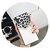 Sunshinejourney Tide Card Leopard Willow Spliced for iPhoneXS Mobile Phone Shell 6S X