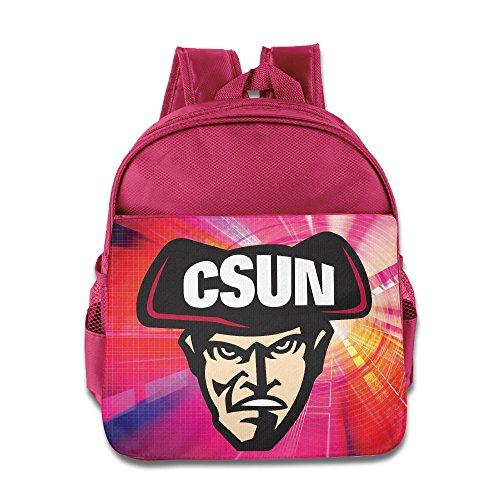 Children CSUN Matadors Logo Mascot Small Backpack (2 Color:Pink Blue)