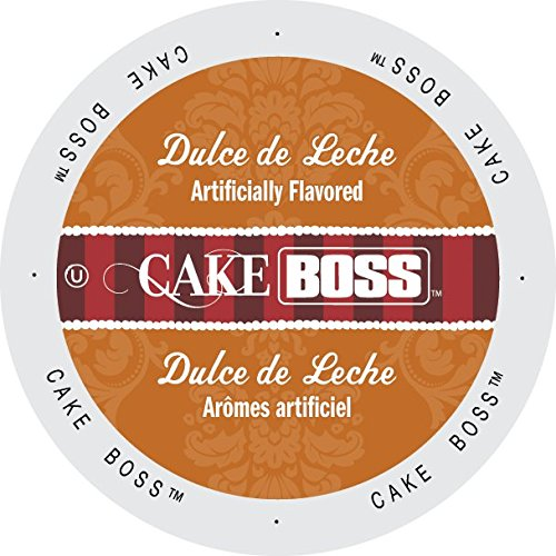 Cake Boss Medium Roast Coffee Cup, Dulce De Leche, 18 Count: Amazon.com: Grocery & Gourmet Food